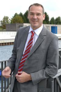 Andreas Fredrich - Mayor of the city of Senftenberg - Source: RASCHE FOTOGRAFIE